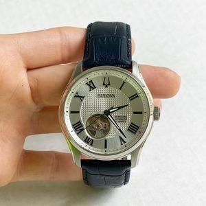 Bulova Wilton Men's White/ Blue Dial Watch